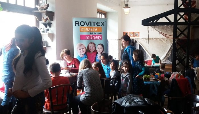 Kreatív Lakástextil Műhelyünkkel kézműves foglalkozást tartottunk a Pécs Bike Maffia meghívására>
