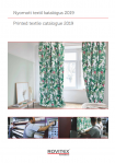 Printed textile catalogue 2019>
