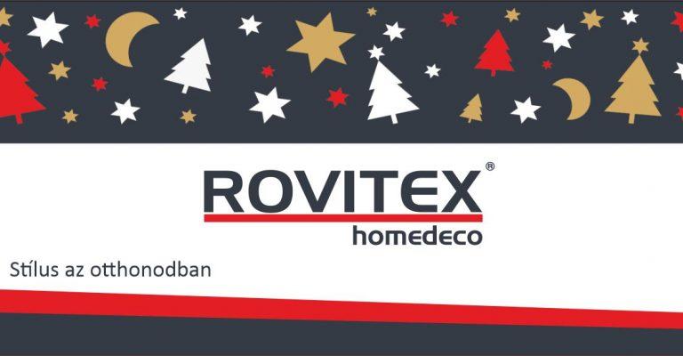 Meghitt, békés ünnepeket kíván a Rovitex>